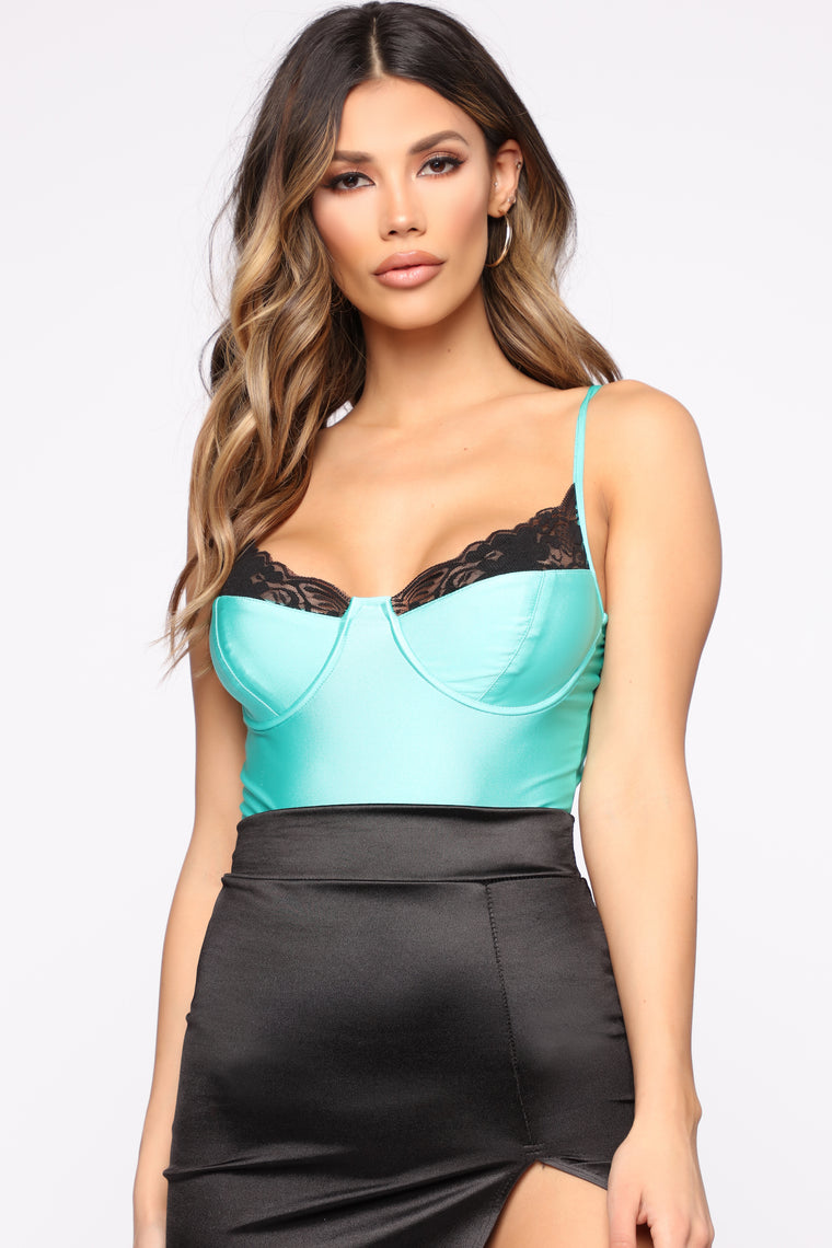 Everything You Want Bodysuit - Mint