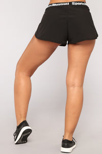 Sports Illustrated Shorts - Black