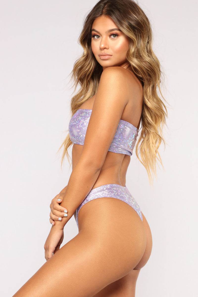 Glitz And Glamour Bikini Set - Purple