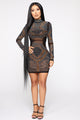 Buy Me Jewels Rhinestone Dress - Black