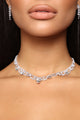 Natalie Necklace Set - Silver