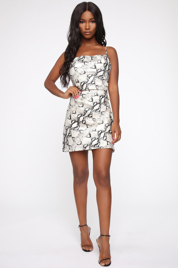 cbbb4149c Feeling This Way Snake Mini Dress - Snake