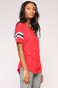 Game Changer Top - Red