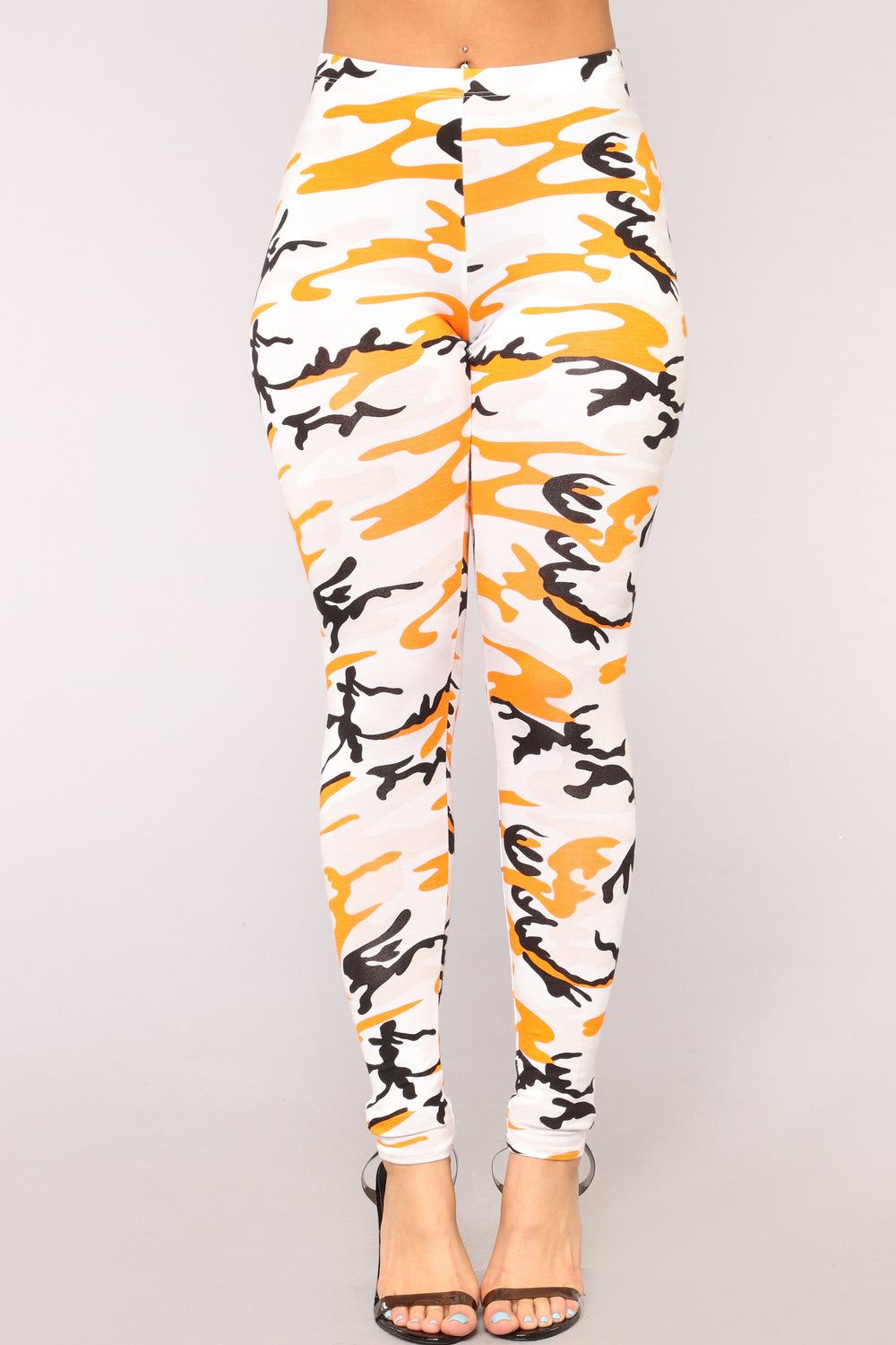 Look Alive Camo Set - Orange/Grey