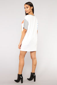 Vintage Beauty Tunic - White