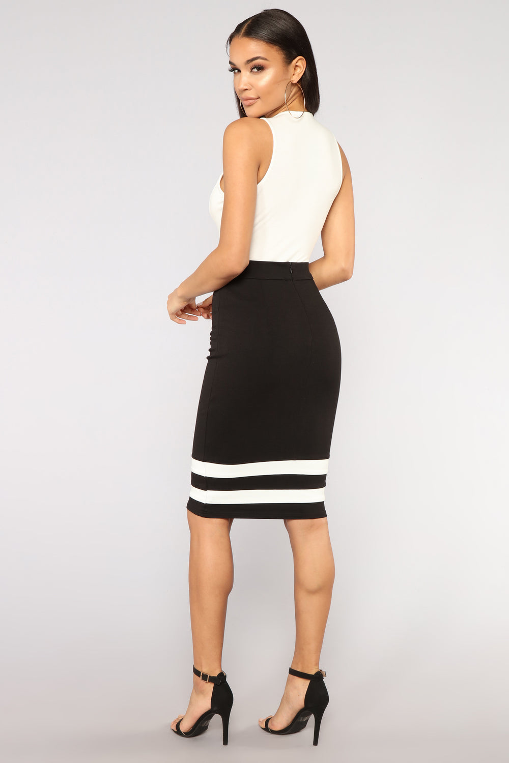Can't Touch This Skirt - Black