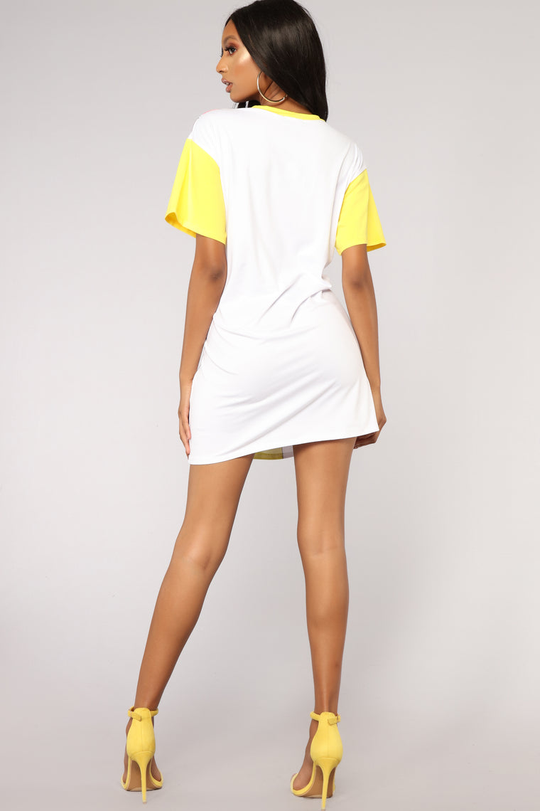 Love In Your Eyes Tunic - White