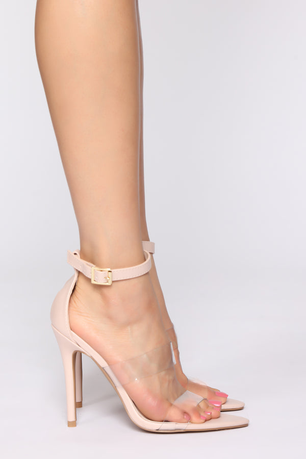b52f1265f455 Magnetic Force Heeled Sandals - Nude