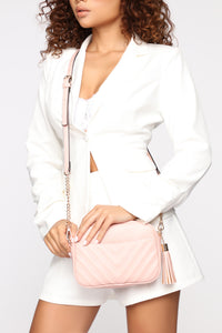 Stephanie Crossbody Bag - Blush
