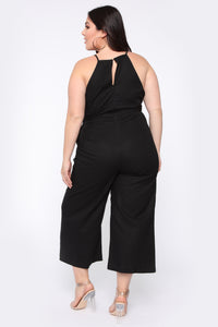 Being With You Jumpsuit - Black