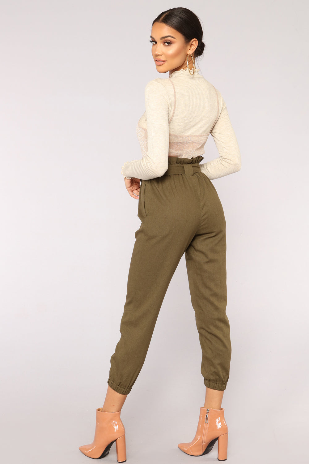 Got It All Jogger - Olive