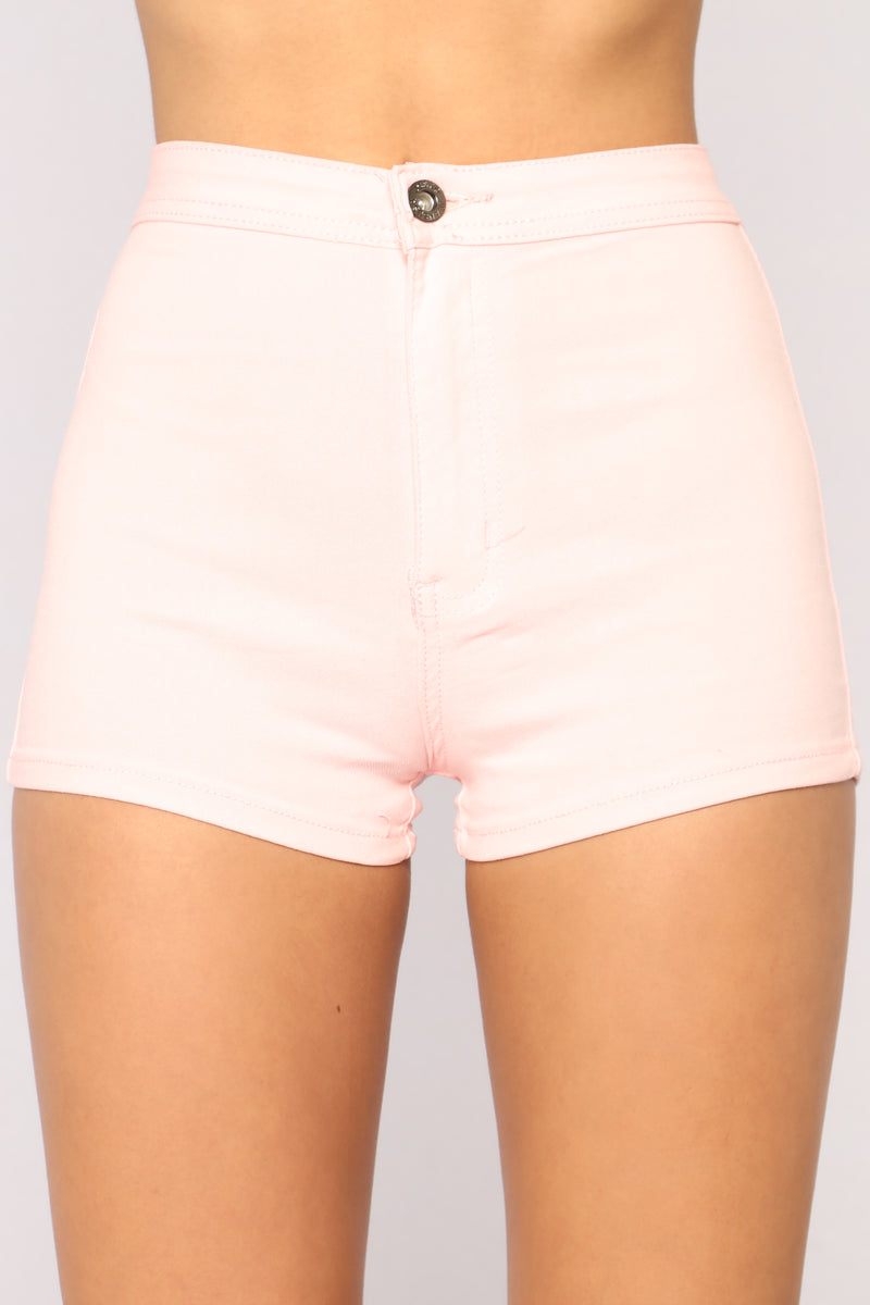 Daily Essential Shorts - Pink