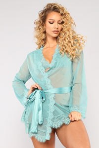 New Lover Robe - Teal