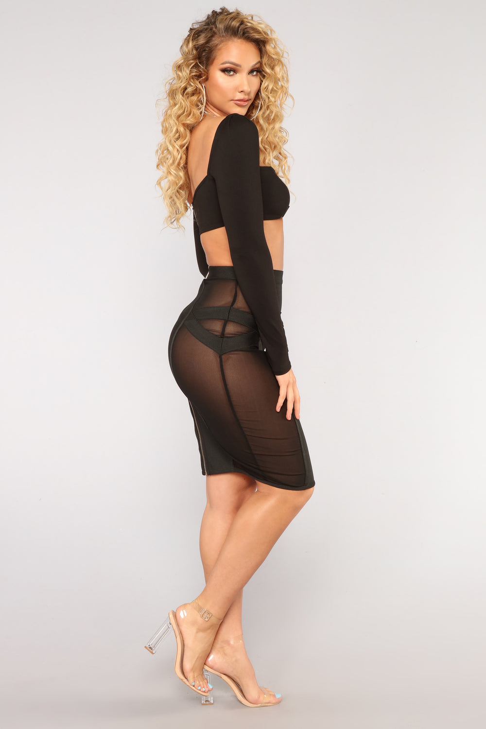 See The Secrets Skirt - Black