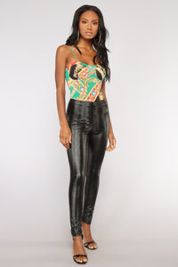 Money Maker Bodysuit - Green