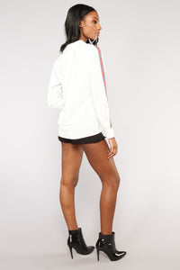 Lianne Button Down Shirt - Off White Angle 5