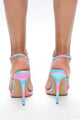 Love You So Heeled Sandals - Multi Color