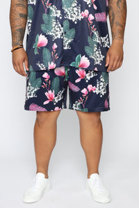 Sway All Night Short - Pink/Combo