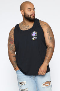 Out Of This World Tank Top - Black/combo Angle 7