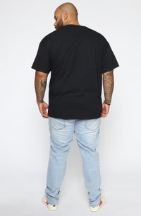 Verified Short Sleeve Tee - Black/combo Angle 11