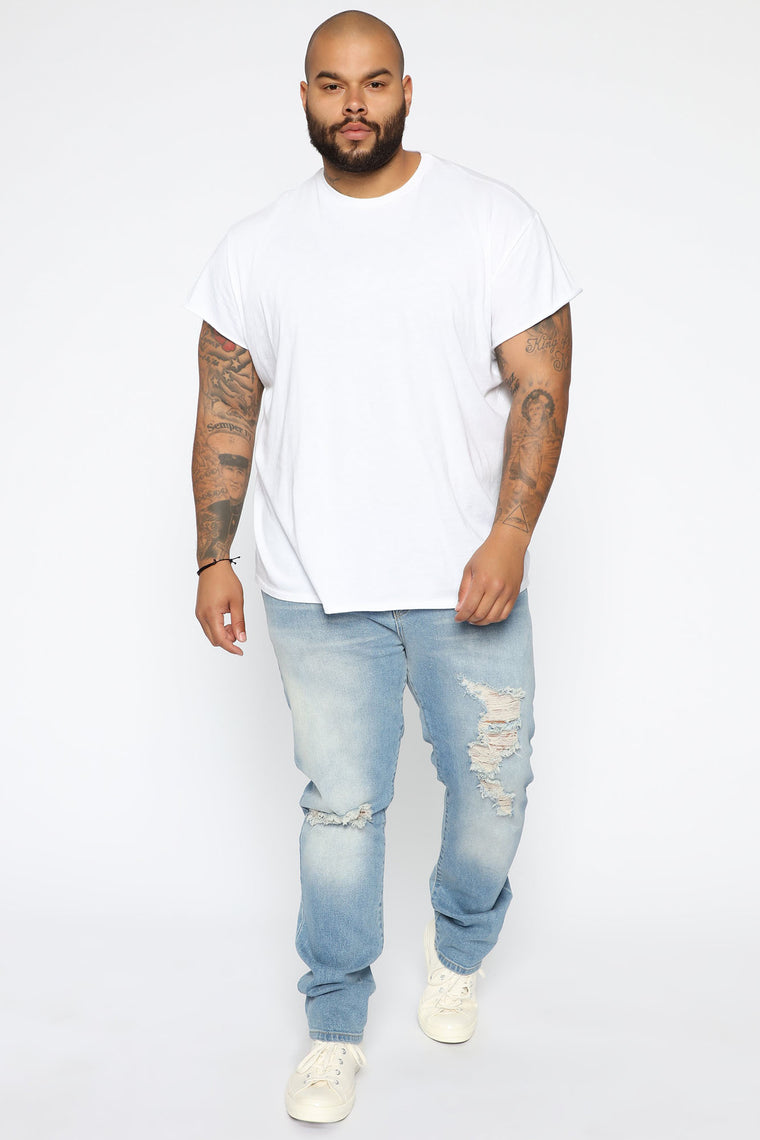 Bronx Slim Jeans - Medium Wash