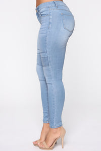 Forever Wild Jeans - Light Blue Wash