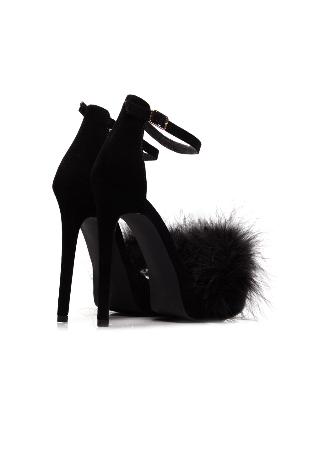 In Control Feather Heel - Black