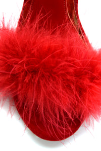 In Control Feather Heel - Red