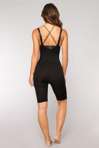 In All The Right Places Shapewear Shorts - Black Angle 3