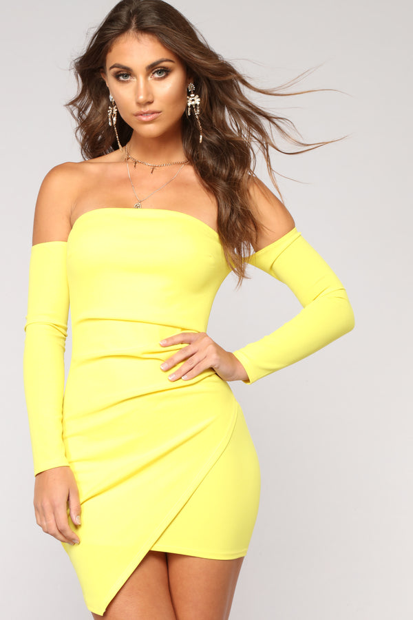 30396a6e661 Feelin  My Vibe Midi Dress - Yellow