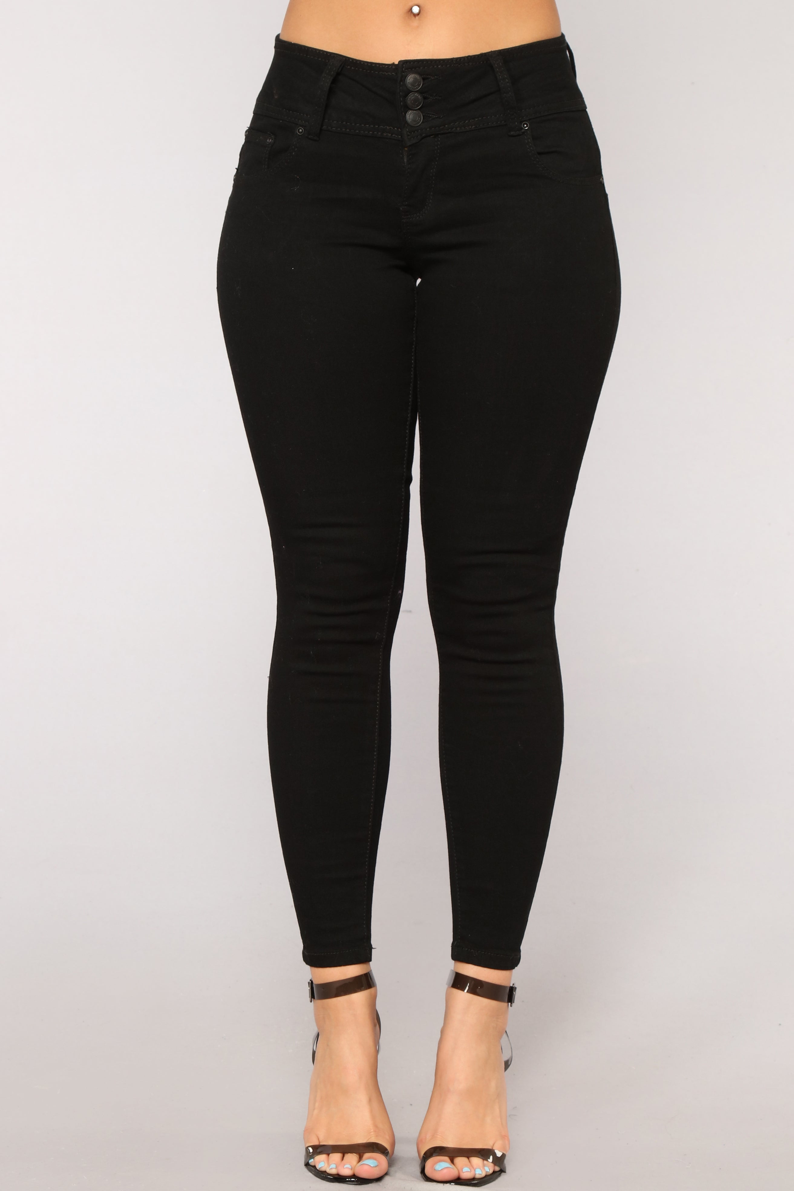 853ea68a7c9 Bridgette High Rise Ankle Jeans - Black