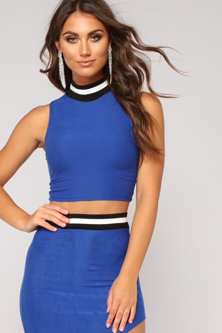 US Open Skirt Set - Royal