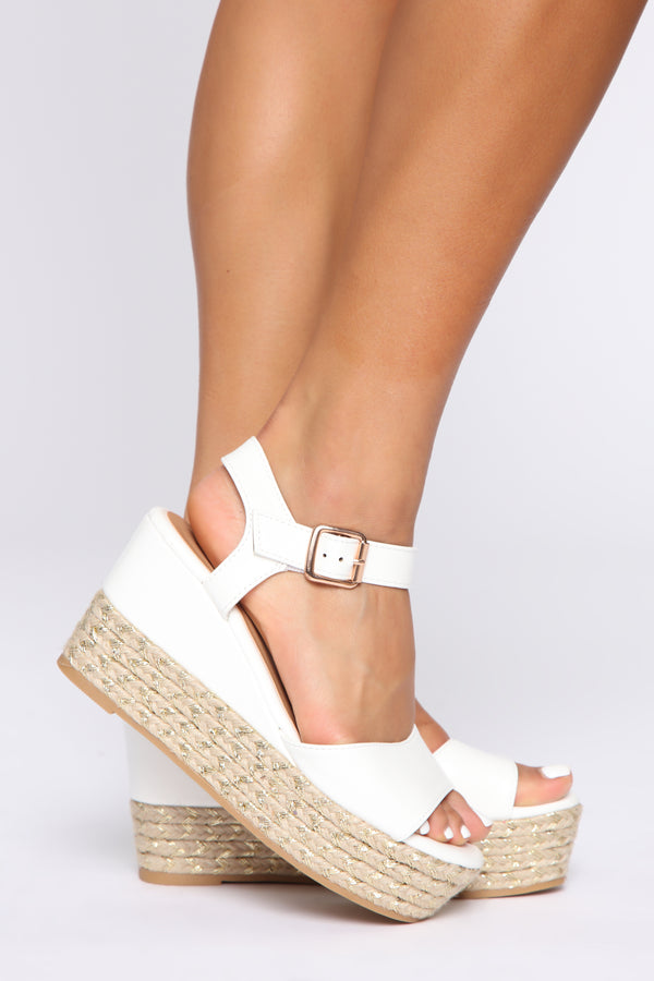 695a87ffd No Judging Here Wedges - White