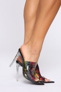 Getaway Heeled Sandals - Multi Snake