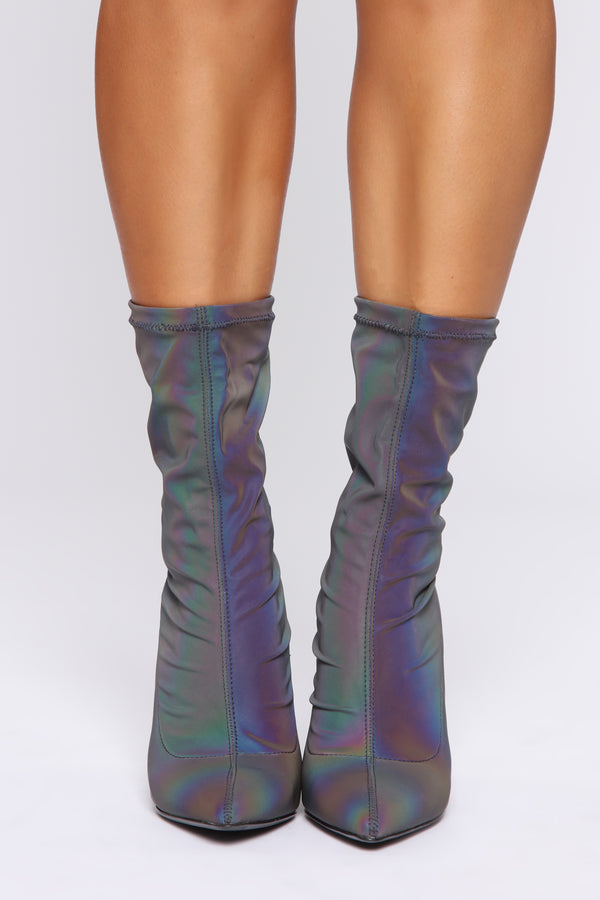 b346895cbed6 So Bright It Hurts Booties - Multi Color