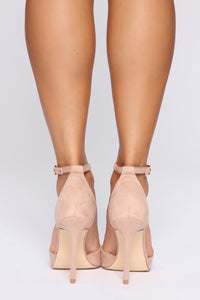 Fortunate To Have You Pumps - Nude