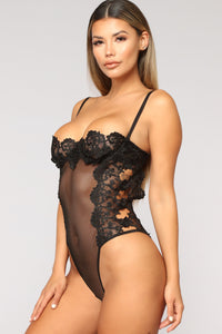 Your Only Vixen Teddy - Black