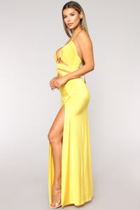 Givin' You Love Dress - Yellow