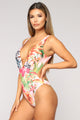 Tropical Thoughts Swimsuit - Pink/Combo