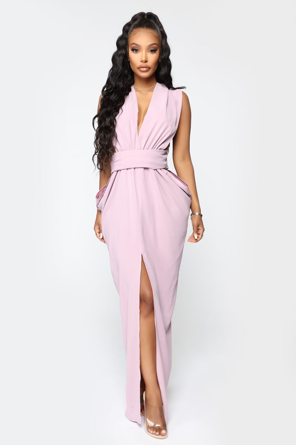 14fb5b507 Pose From Different Angles Maxi Dress - Lavender