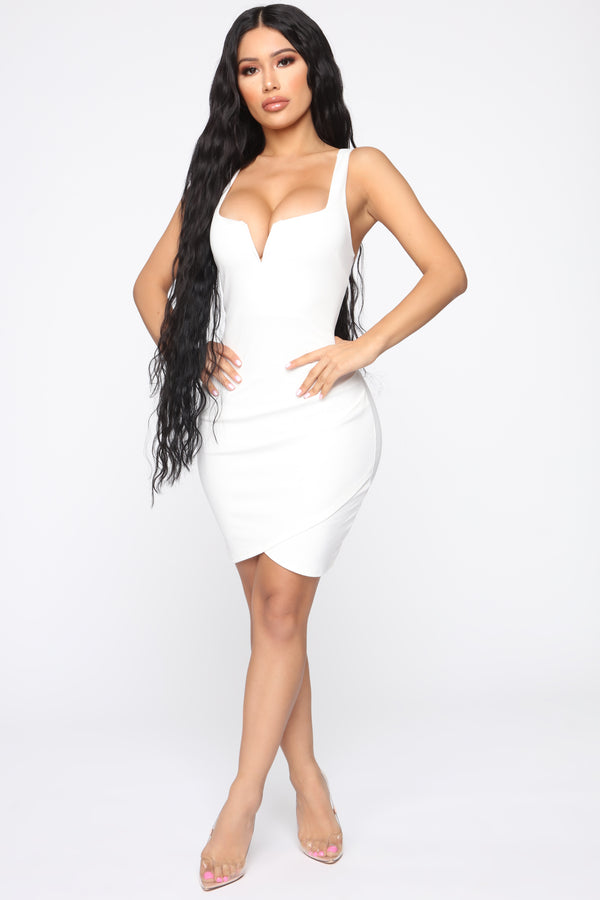 82c631d2d1f Only Have You Mini Dress - Ivory