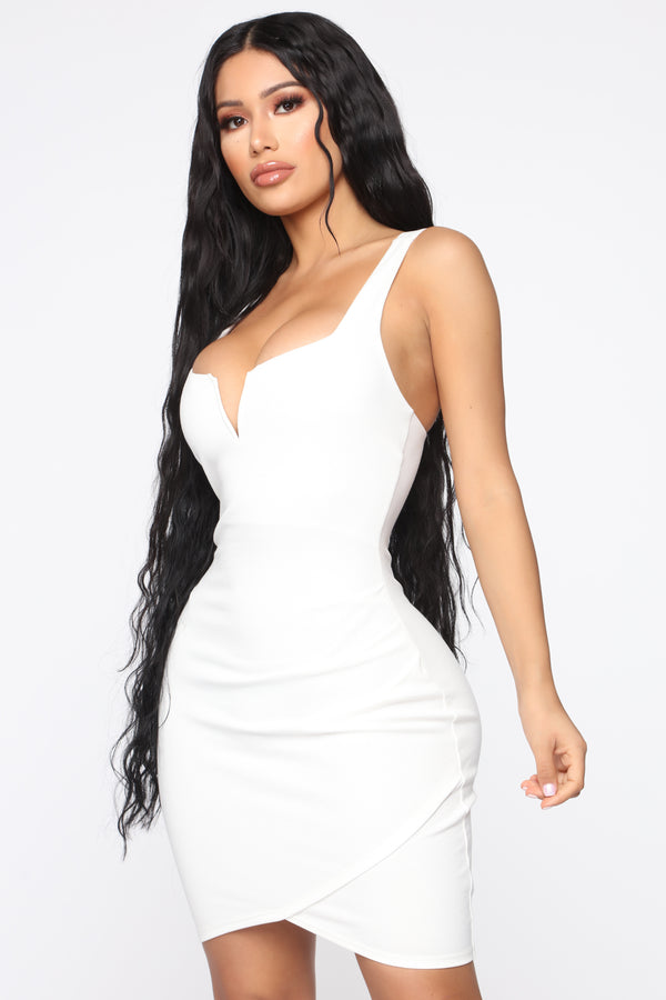 702c10ccbdc2 Only Have You Mini Dress - Ivory