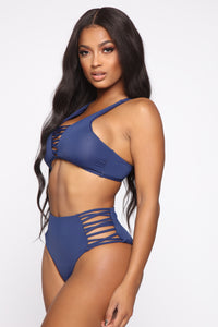 Quick Dip In The Water Bikini - Navy