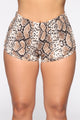Rawr Sighting Shorts - Snakeskin