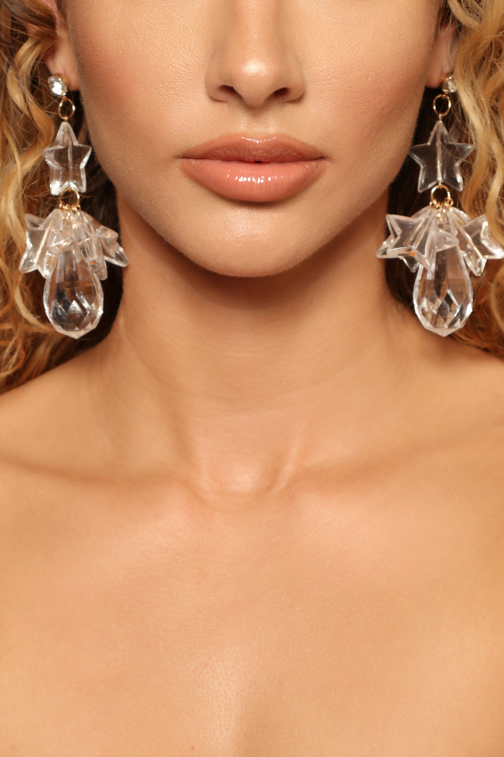 Clearly The Best Earrings - Clear
