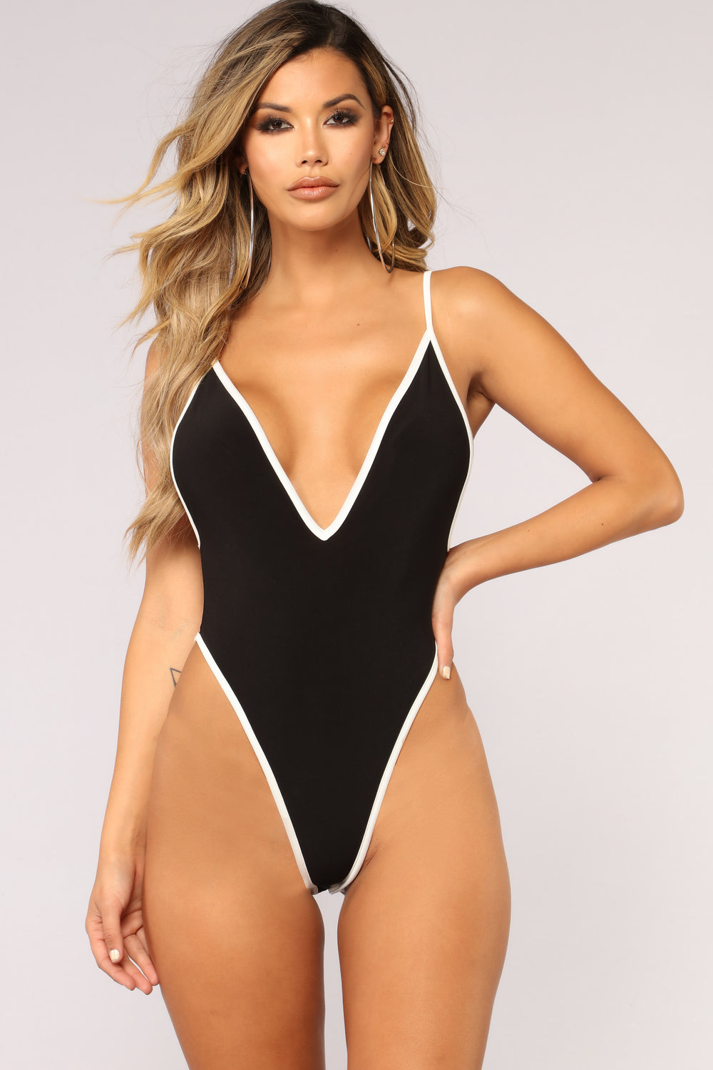 Waiting For The Weekend Bodysuit - Black