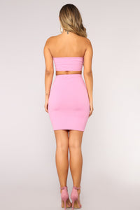 Nataly Skirt Set - Pink