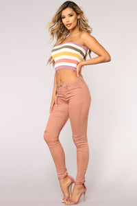 Spectrum Crop Top - Multi Angle 4