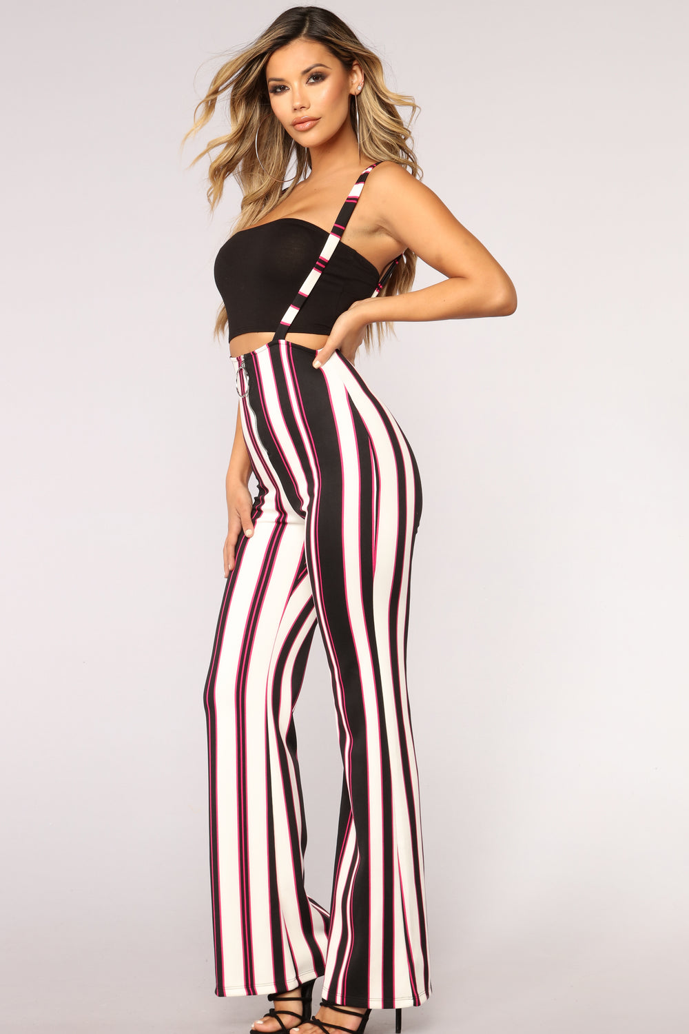 Jessa Overall Pants - Multi Color