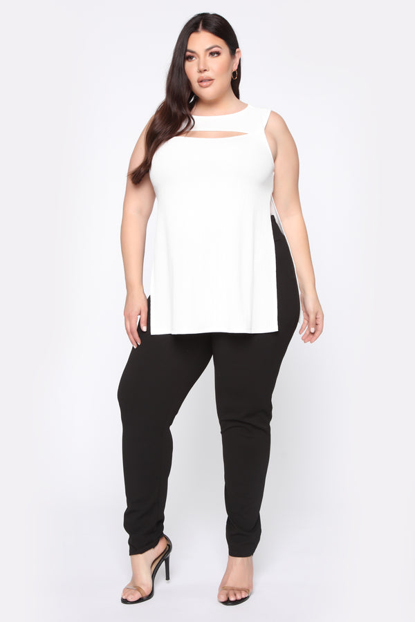 0457f86616 Time Away Top - White